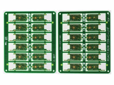 6 Layers Immersion Gold PCB Fabrication For Military Devices