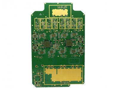 8 Layers ENIG PCB Applied For Digital Fiber Communication